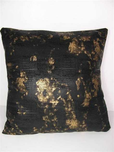 Gold And Black Pillows by Decorative Throw Pillow Covers Black And Gold Throw Pillow