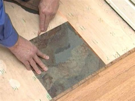 how to install vinyl flooring that looks like slate how tos diy