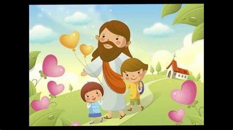imagenes de jesucristo infantiles yo tengo un amigo que me ama educaci 243 n infantil youtube
