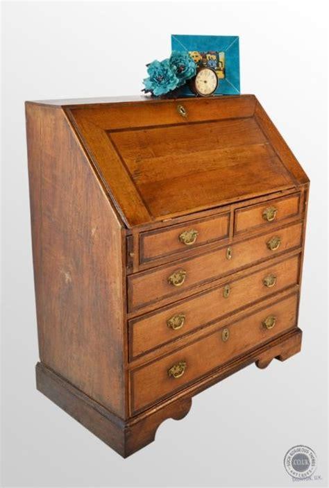 Bureau Writing Desk Uk by Antique Georgian Bureau Large Oak Fall Front