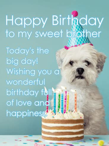 youre    kind happy birthday card  brother