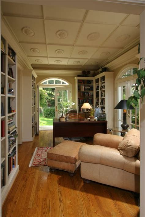 English Homes Interiors cozy home library dreamy home libraries pinterest