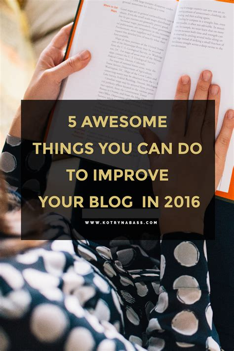 Here Are Some Things You Can Do To Improve The State Of Your Skin | 5 awesome things you can do to improve your blog in 2016