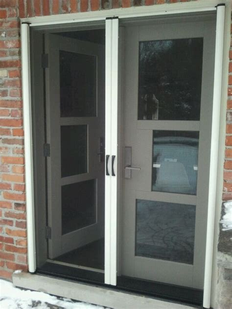 retractable screen doors for doors all design doors ideas