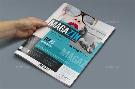 magazine template photoshop psd by pmvch graphicriver