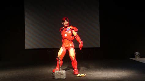 geek days cosplay dimanche iron man youtube