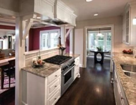 ranch home galley kitchen open floorplan remodel home ranch floor plans house design