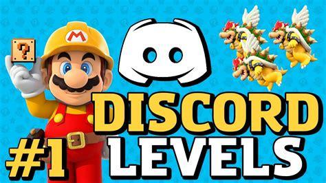 discord level super mario maker discord levels 1 youtube