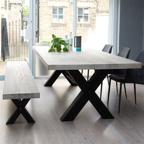large kitchen tables with benches best 25 dining table with bench ideas on pinterest