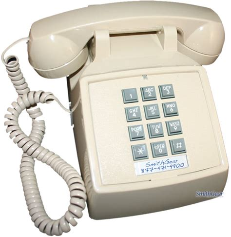 Cortelco Desk Phone by Cortelco 2500 Desk Phone Ash