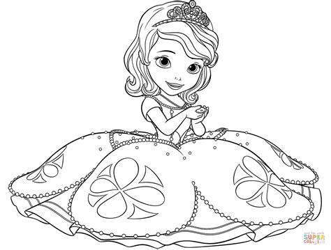 princess sofia super coloring