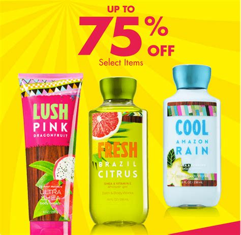 Bath And Body Works Gift Card Balance Canada - bath body works canada semi annual sale coupon for 10 off any 40 purchase get 75