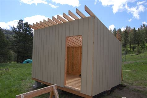 Build A Small Shed Cheap