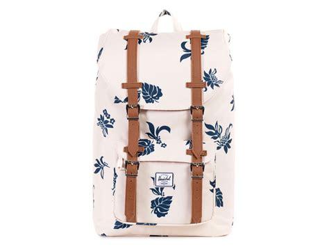 Tas Herschel America Mid Volume Backpack 1 herschel america m tropical flora laptop rugzak