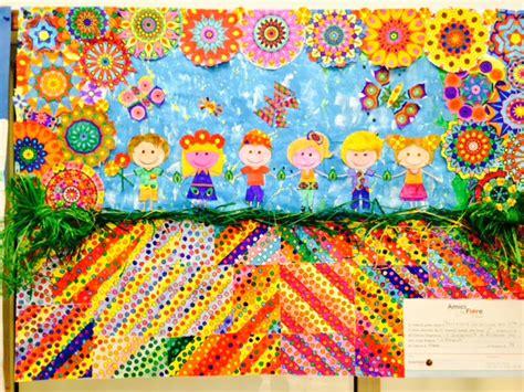 fiori di tutti i colori arcobaleno di fiori per essere amici di tutti i colori
