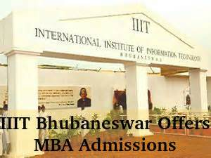 Mba Admission 2016 India by Iiit Bhubaneswar Offers Mba Admissions For 2016 Session