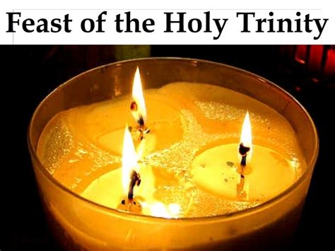 the feast of the feast of the holy trinity