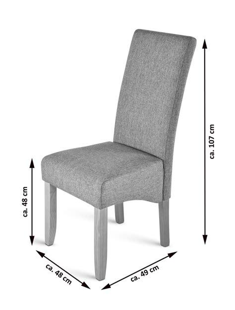 stoff esszimmer stühle esszimmerstuhl in grau bestseller shop f 252 r m 246 bel und