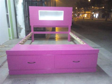 sofa cama de dos plazas mercado libre cama de dos plazas con luces y sabanera s 520 00 en