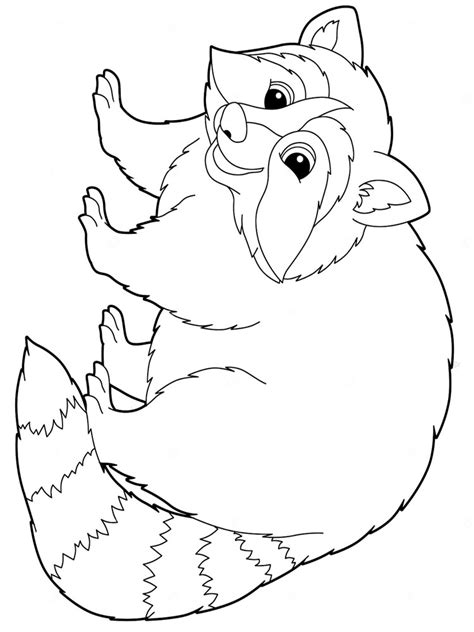 coloring book pages raccoon raccoon coloring pages and print raccoon