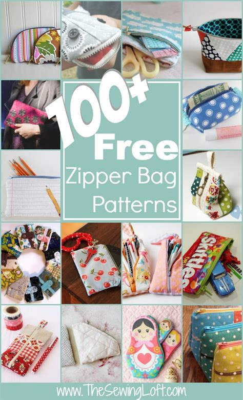free sewing pattern zipper bag 100 free zipper pouch patterns the sewing loft