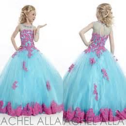 Flower girl dresses baby toddler party little girls pageant dresses