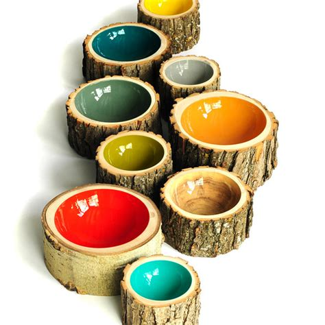 vasi di legno vasi da interno design quando la natura ispira la creativit 224