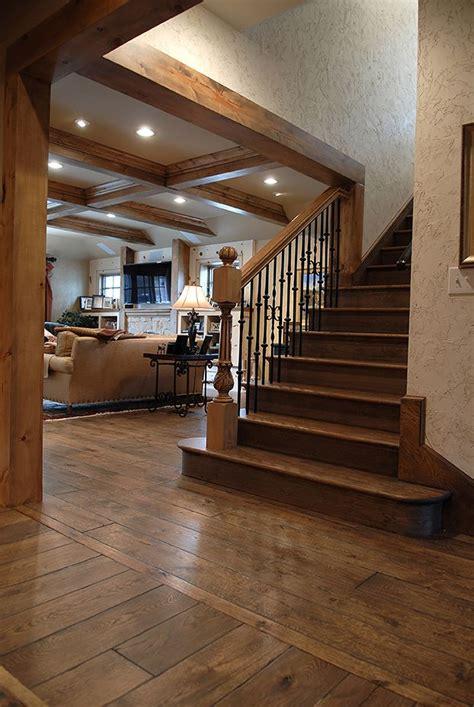 Discover Hardwood Flooring Design Llc - 7 1 4 quot wide plank solid vintage grade oak hardwood