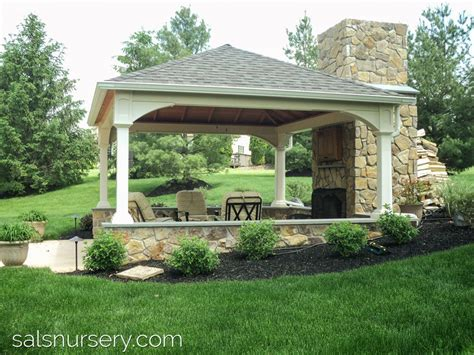 covered outdoor seating how to make your backyard the summer hangout spot sal s