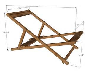 Folding wood chair plans adirondack chair plans free lounge chair