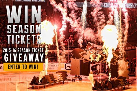 Chicago Wolves Giveaways - 2015 16 season ticket giveaway chicago wolves