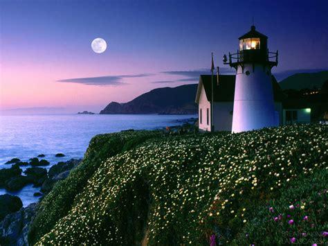 Light California by Beautiful Point Montara Lighthouse California