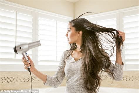 how to do a professional blowout at home daily mail