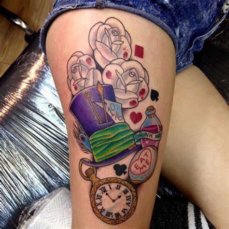 tattoo designs alice in wonderland in tattoos designs ideas and meaning