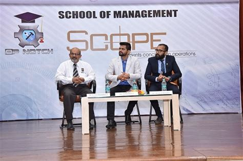 operations management conclave at school of management
