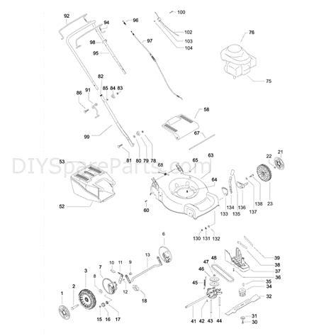 mcculloch parts diagram mcculloch m46 500cd 966841201 parts diagram page 1