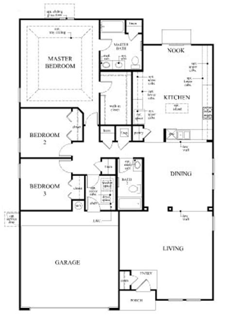 kb homes floor plans the hayden modeled black ranch