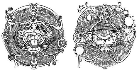 imagenes de letras aztecas tatuajes brazaletes aztecas car interior design