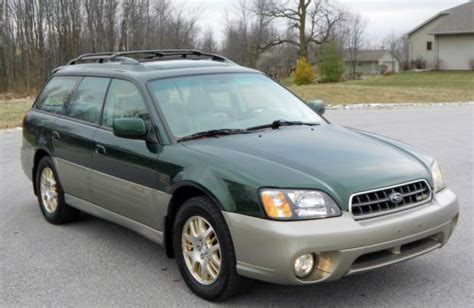 tan subaru outback purchase used 2003 subaru outback ll bean edition clean