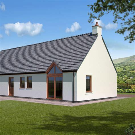 glazed peak patio external view cottage kit