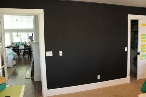 black wall paint matte black paint for walls bhg style spotters with all