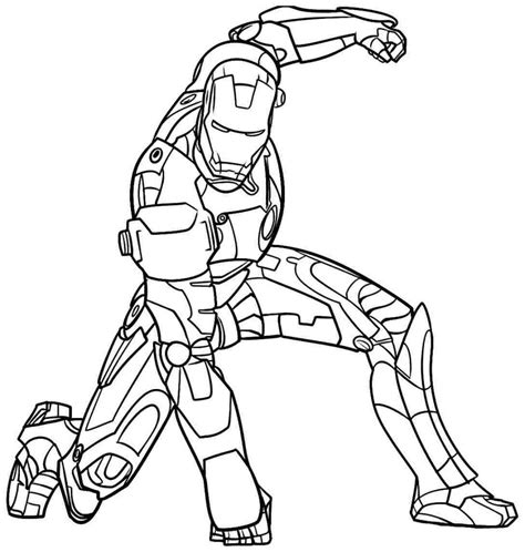 Iron Man Coloring Pages Free Printable Coloring Home Iron Black And White Coloring Pages