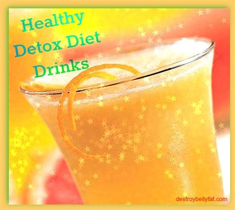 Healthy Detox Diet by Healthy Detox Diet Drinks To Help Eliminate Stomach