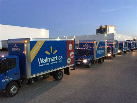 walmart s same day home delivery fleet hits the road to