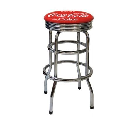 Tabouret Coca Cola by Tabouret De Bar Chrome Coca Cola Logo