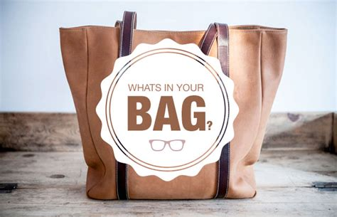 In Our Bag by What S In Your Bag Hairtrade
