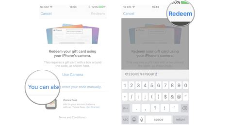 Itunes Gift Card Balance - how to gift and redeem content on the itunes store for iphone and ipad imore