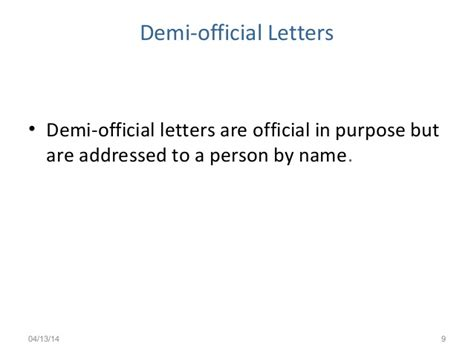 Demi Official Letter Format In Demi Official Letter Format Exles Yanki Homs