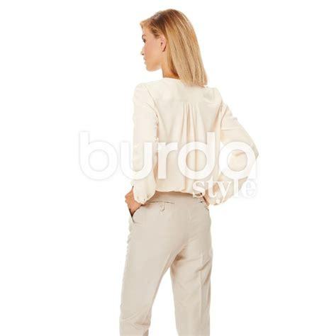 patron burda blouse burda n 176 6632 patron de couture ma