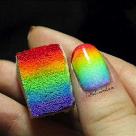 colors seem to fade 17 rainbow nail designs you won t miss pretty designs